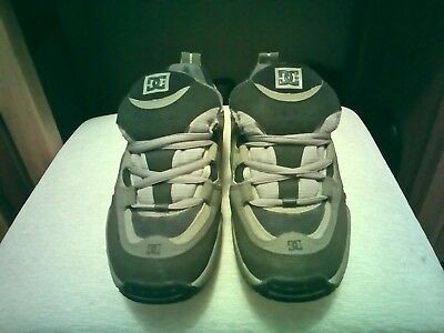 size 5 DC shoes, grey hardly worn