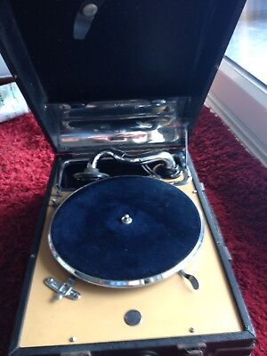 Decca Vintage Record Player Crescendo Junior Sound Box Gramophone