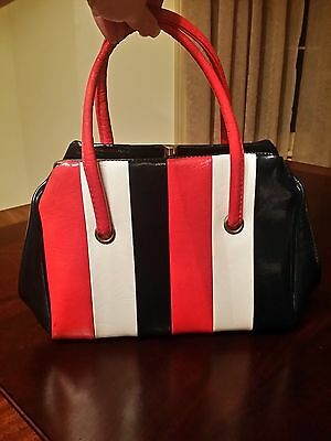 Vintage Purse Red White & Blue