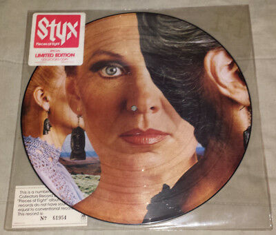 Styx: pieces of eight limited edition picture disc 1978