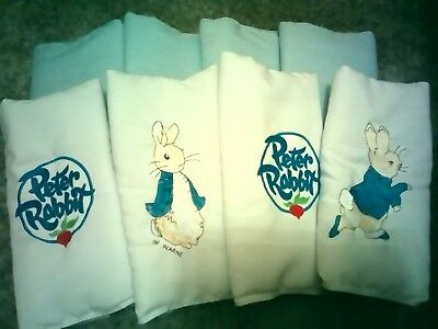 Peter rabbit cot bumpers, bumpster style