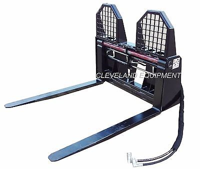 NEW HYDRAULIC PALLET FORKS & FRAME ATTACHMENT Case Gehl Bobcat Skid Steer Loader