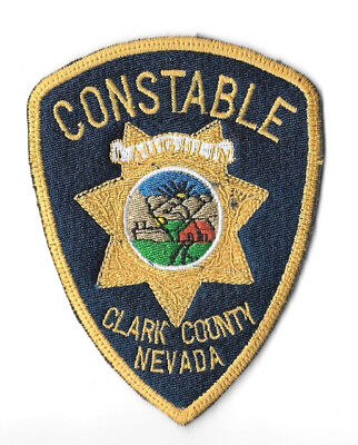 Clark County Laughlin NV Constable Police Patch