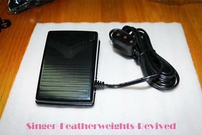 New (Electronic) Sewing Machine Foot Pedal W/cord- Singer Featherweight & Others