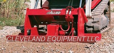 ALLIED SKID-PAC 1000B VIBRATORY COMPACTOR ATTACHMENT Cat SkidSteer Loader HO-PAC