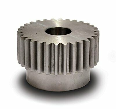 Boston Gear NB28B-1/2 Spur Gear, 14.5 Pressure Angle, Steel, Inch, 16 Pitch, OD,