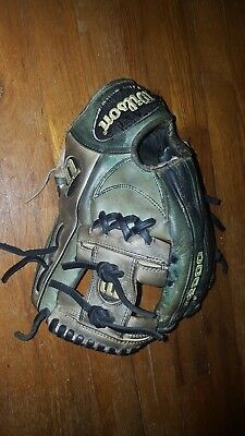 "Wilson A2000 11.25"" Baseball Glove Made In Japan Pro Stock OS"