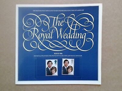 The Royal Wedding - Charles & Diana - Post Office Souvenir Booklet + Stamps