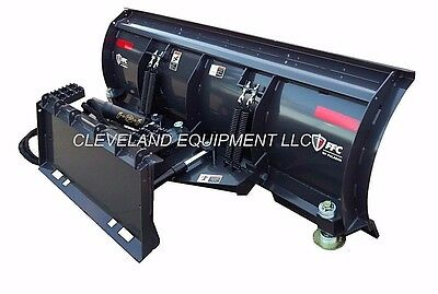 """NEW 96"""" FFC 5700 SNOW PLOW ATTACHMENT - Bobcat Skid-Steer Loader Angle Blade 8'"""