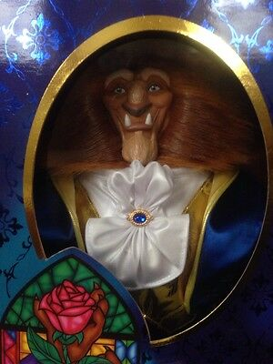 Beast Doll Limited Ed Beauty And The Beast Signature Collection Disney Mattel