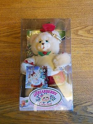 1999 Mattel Inc Fisher-Price Briarberry Collection Berrynicole Bear China - Nib