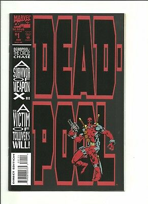 Deadpool The Circle Chase #1 1st mini-series Madureira 1993 $1 start!