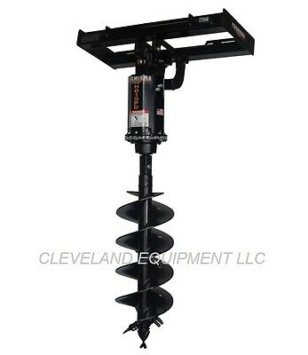 NEW PREMIER H019PD HYDRAULIC EARTH AUGER DRIVE ATTACHMENT Post Hole Digger Bit