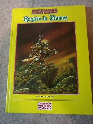 Warhammer Fantasy Role Play - Empire In Flames 1992 Book