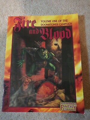 RPG WFRP - vol.1 of The Doomstones Campaign: Fire and Blood