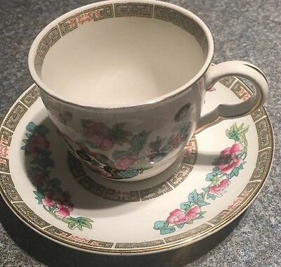 """Vintage Maddock Indian Tree 3"""" Teacup With 5.5"""" Saucer More Available"""