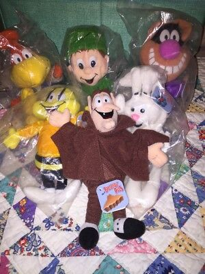 1998 Breakfast Pals Set Of 6 5 Are New In Package