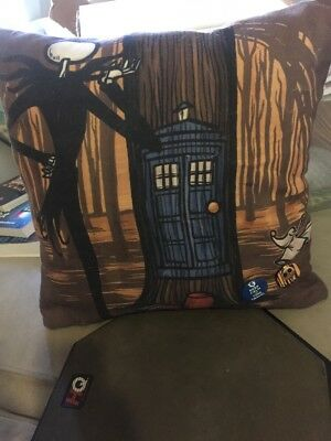 Doctor Who/Nightmare Before Christmas Throw Pillow