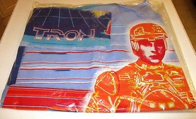 Disney TRON DUVET & PILLOWCASE     MINT UNUSED 1982    Rare