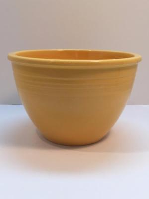 "Vintage Fiesta Yellow Mixing Bowl No Rings in Bottom Fiestaware 7-1/2"" X 5"" Tall"