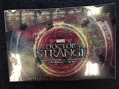 2016 Upper Deck Marvel - DR DOCTOR STRANGE - Sealed Hobby Box