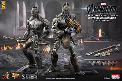 Hot Toys Chitauri Footsoldier & Chitauri Commander (the Avengers) MMS228