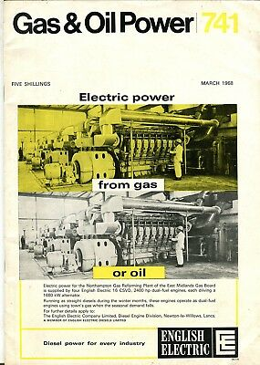 Gas & Oil Power magazine 741 March 1968
