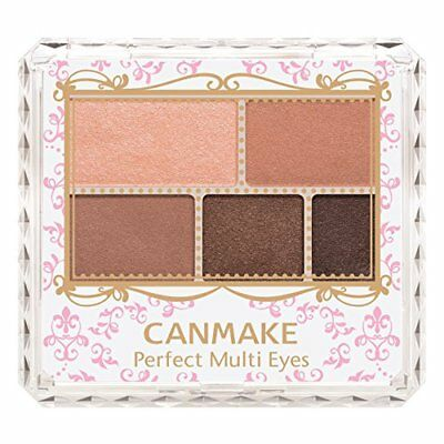 Brand New CANMAKE Perfect Multi Eyes 01 Rose Chocolat Japan Import