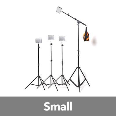 Aputure 4x H198 LED Video Continuous Portable Lighting Kit With Boom (from 1680