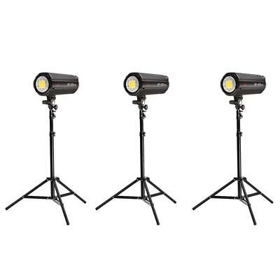 Jinbei 3x EF200 V (600W) Continuous LED Photo & Video Lighting Kit