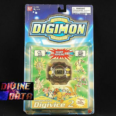 New Digimon Digivice D2 Transparent Purple Ver.2.0 1999 Bandai America