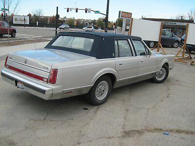 1989 Lincoln Town Car CARRIAGE ROOF Lincoln TownCar