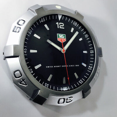 Tag Heuer Watch Dealers Showroom Advertising Wall Clock Display