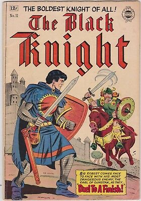 The BLACK KNIGHT no.1. Toby Press, May 1953. This is IW Reprint no.11 from 1963