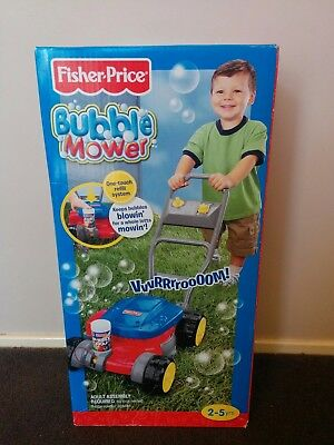 Fisher Price Bubble Toy Lawn Mower - NEW (sealed in Box)