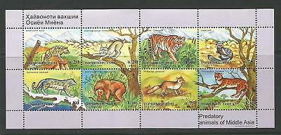 Tajikistan 2005 Predatory Animals Of Middle Asia - Fauna - Sg#ms281 - Mnh.