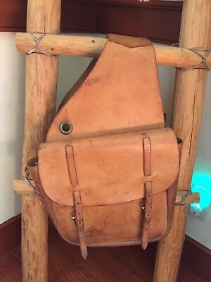 Vintage Western  SADDLEBAGS. About 25 years old. Made in USA. Top Quality, XLNT