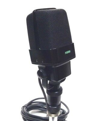 Awesome Fostex Printed Ribbon Microphone Rare Version
