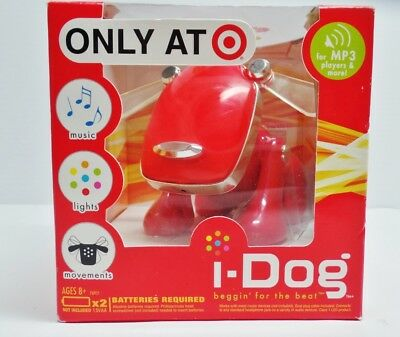I-Dog Beggin' For The Beat Mp3 Music Player Lights Movements Sounds Misb 2006