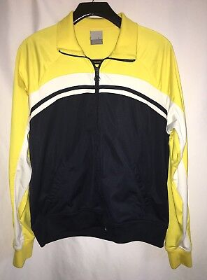 NIKE Women's Athletic Running COLORFUL Warm Up Track Jacket Full Zip Size XL