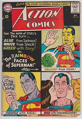 Action Comics #317 Silver Age 1964 DC Superman Comic Book Curt Swan Cover