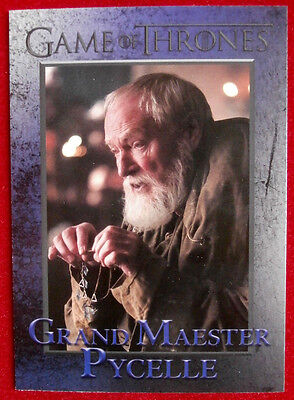 GAME OF THRONES - Season 4 - Card #49 - GRAND MAESTER PYCELLE - Rittenhouse 2015