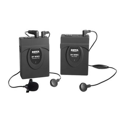 Boya BY-WM5 Wireless 2.4GHz Lapel Microphone