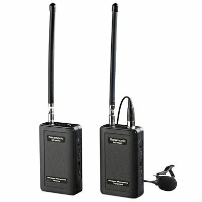 Saramonic SR-WM4C 4-Channel VHF Wireless Lavalier Microphone System