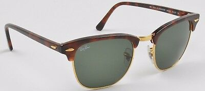 Ray Ban Clubmaster Collapsible Sunglasses w/ Case