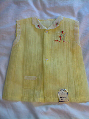 Vintage Baby Top Hand Made in Phillipines Cowboy design