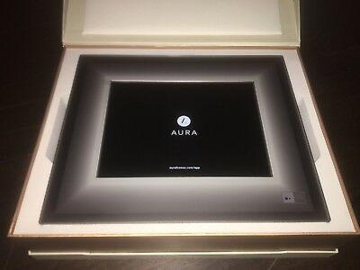Brand New Aura Digital Frame (Charcoal Black)