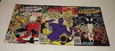 Marvel Amazing Spiderman Comic lot of 3! Issue 246, 247, and 255