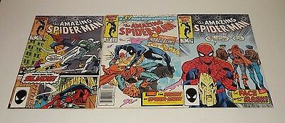 Marvel Amazing Spiderman Comic lot of 3! Issue 272, 275, and 276