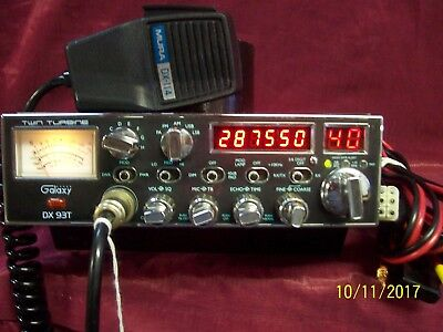 Galaxy Dx 93T Export Am Fm Ssb Getting Hard To Find This Nice